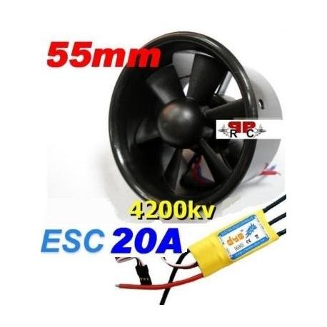 hélico électrique a turbine