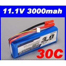 batterie lipo 11.1v 3000mah 30C / 40C  TURNIGY