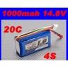 BATTERIE TURNIGY 4S 14.8V 1000 mah 20C