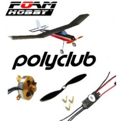 KIT POLYCLUB  EPP + KIT COMPLET ACCASTILLAGE , ROUES  + COMBO 1