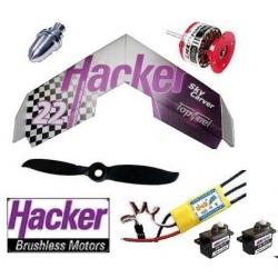 AILE DELTA EPP HACKER  SKYCARVER  DECO HACKER TEAM DESIGN  COMBO 2