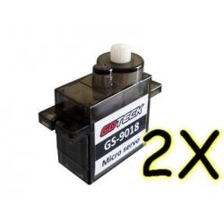 2 X DYS 9gr  S0206 V2 GOTECK GS-9018
