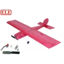 "KIT  AVION BALSA "" DEJA ENTOILÉ ""  MINI STICK  ELErc  COMBO 1"
