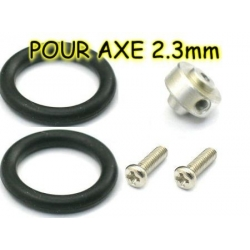 PROP SAVER POUR AXE 2.3mm HELICE TYPE GWS