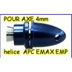 PORTE PINCE PLUS PINCE POUR AXE 3.17mm HELICE TYPE APC / EMP