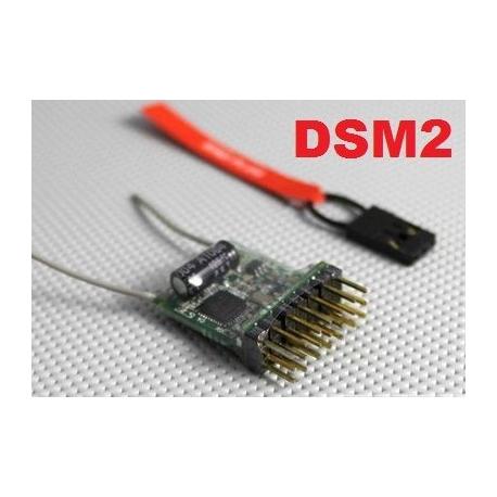 MICRO RECEPTEUR 4g MX  2.4GHZ  6 VOIES  COMPATIBLE DSM2 SPEKTRUM