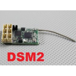 NANO RECEPTEUR MXNANO  2g  2.4GHZ  6 VOIES  COMPATIBLE DSM2 SPEKTRUM
