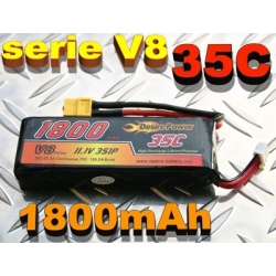 BATTERIE LI-PO DESIRE POWER 11.1v  1800mah  35C