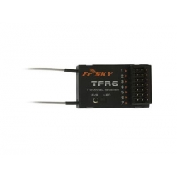 MICRO RECEPTEUR FRSKY  TFR6 (7ch) 2.4Ghz COMPATIBLE  FUTABA FASST