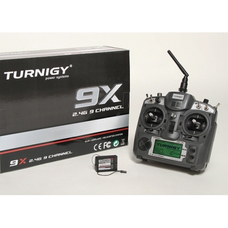 ENSEMBLE RADIO PROGRAMMABLE TURNIGY 9X  9 VOIES  2.4Ghz  V2 FIRMWARE