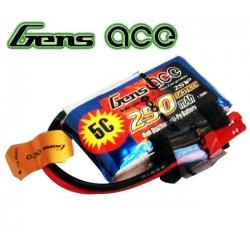 LI-PO GENS ACE  7.4V 250 mah 30C/60C