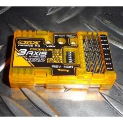 RX3S orangeRX  V2  STABILISATEUR  3 AXES  +  ( V-TAIL / DELTA / AUX )
