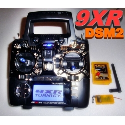 RADIO PROGRAMMABLE TURNIGY 9XR 9 VOIES  2.4Ghz  SANS MODULE ET RECEPTEUR MODE 1