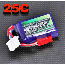 BATTERIE TURNIGY NANO-TECH  11.1v  180mah  25/40C