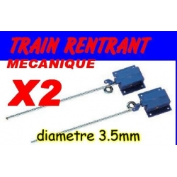 TRAIN RENTRANT PICO MECANIQUE LONG:140 DIAMETRE 3.5mm PAR 2 PIECES
