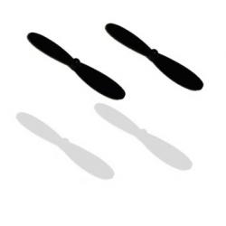 Hélices pour Hubsan X4 H107 H107-A02