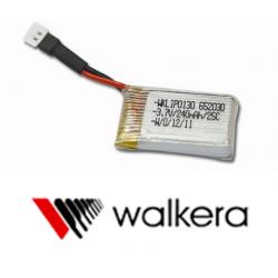 Batterie WALKERA 3.7V 240mAh 25C pour QR Ladybird / Super CP / Mini CP / Genius CP V2 / Hubsan X4 H107