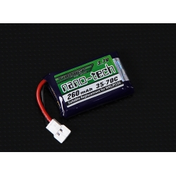 BATTERIE LIPO TURNIGY 1S 3.7V  300mah 35C  NANO-TECH  IDEAL  E-FLIGHT BLADE  mCPx