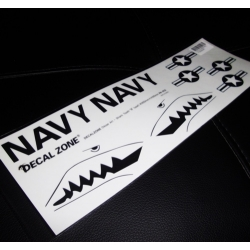 FEUILLE AUTOCOLLANTS  US NAVY REQUIN 300X10