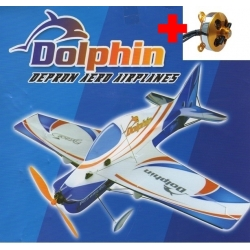 AVION DEPRON DOLPHIN  COMPETITION KIT PLUS MOTEUR