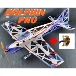AVION DEPRON DOLPHIN PRO COMPETITION KIT PLUS MOTEUR