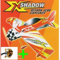 AVION DEPRON SHADOW  COMPETITION + MOTEUR