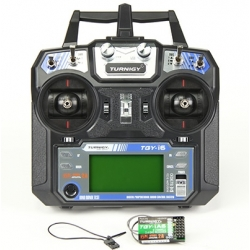"ENSEMBLE RADIO  TURNIGY TGY-i6 AFHDS "" MODE 2 ""  6 VOIES  2.4Ghz + RECEPTEUR"