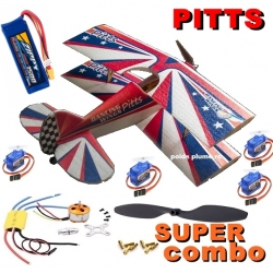 KIT AVION EPP DANCING PITTS SPORT SUPER COMBO