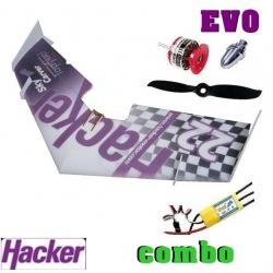 AILE DELTA EPP HACKER  SKYCARVER EVO  DECO HACKER TEAM DESIGN  COMBO