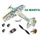 AVION DEPRON 3d MANTA DW HOBBY COMBO