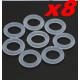 LOT DE 8 MINIS  JOINTS TORIQUES  PROPSAVER 8mmX1.5mm