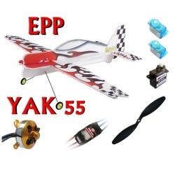 KIT AVION EPP 3D YAK 55 COMBO