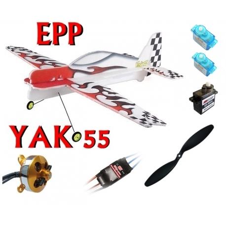 KIT AVION EPP 3D YAK 55 COMBO