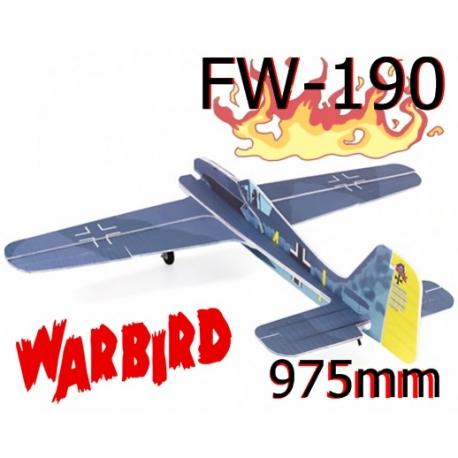 KIT AVION EPS DEPRON FW-190