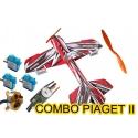 KIT AVION DEPRON PIAGET 2 COMBO