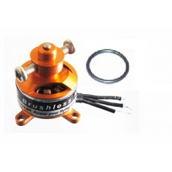 "MICRO MOTEUR  BRUSHLESS ""6gr"" KV4000 DYS A1410  traction jusqu'a 100gr"