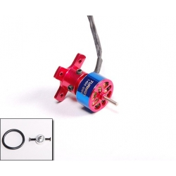 "MICRO MOTEUR T1400 BRUSHLESS ""7gr"" KV2000 TURNIGY  traction jusqu'a 100gr  23W"