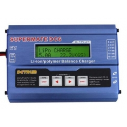 CHARGEUR EQUILIBREUR LIPO 12V DYNAM MULTIFONCTION LIPO 1S a 6S