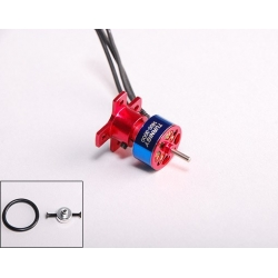 "MICRO MOTEUR T1400 BRUSHLESS ""7gr"" KV3000 TURNIGY  traction jusqu'a 100gr  23W"