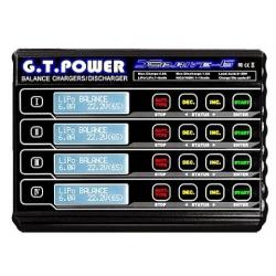 CHARGEUR EQUILIBREUR 4 EN 1  12V  240W GT POWER MULTIFONCTION LIPO JUSQU'A  6S
