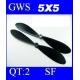 HELICES  TYPE GWS EP-5050  5X5 PAR 2 PIECES