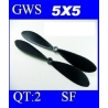 HELICES  TYPE GWS EP-5050  5X5 PAR 2 PIECES