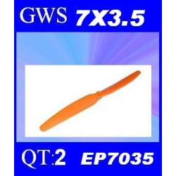 HELICES TYPE GWS EP-7035  7X3.5 PAR 2 PIECES