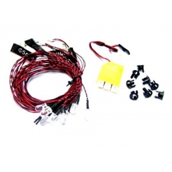 KIT NAVIGATION MULTI-MODES  G.T.POWER  LEDS  FEUX DE POSITION VOL DE NUIT
