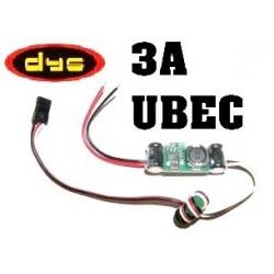 SYSTEM UBEC 5V  3A  DYS + FERRITE ANTI PARASITES