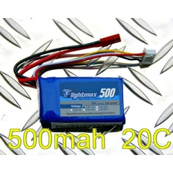 BATTERIE ZIPPY 11.1v 500mah 20C
