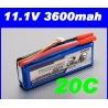 batterie lipo 11.1v 3600mah 20C / 30C  TURNIGY