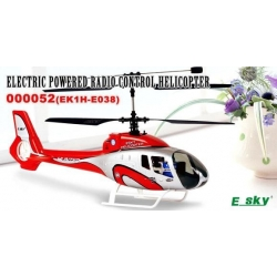 HELICO HUNTER BIROTORS ESKY COMPLET 2.4GHZ