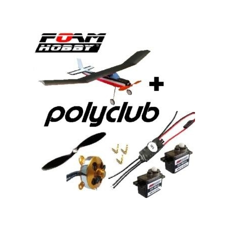 KIT POLYCLUB  EPP + KIT COMPLET ACCASTILLAGE , ROUES  + COMBO 2