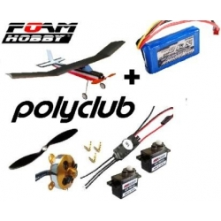 KIT POLYCLUB  EPP + KIT COMPLET ACCASTILLAGE , ROUES  + COMBO 3
